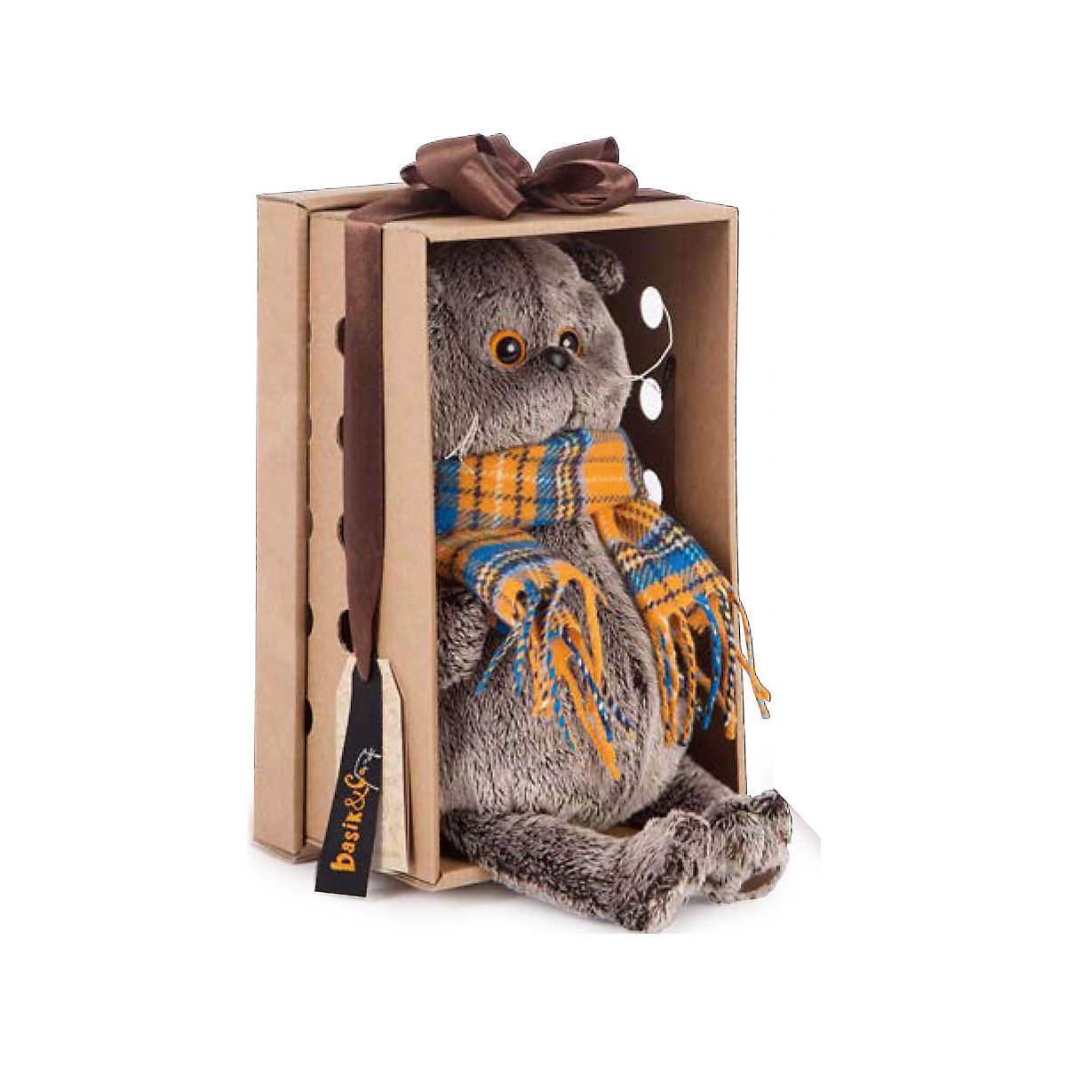 Stuffed & Plush Animals BUDI BASA 8999599 Stitch Bear Totoro Giraffe Fox Cat Dog Soft Children's toys - 4