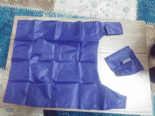 1 pieces Portable folding shopping bag Large nylon bags Thick bag Foldable Waterproof ripstop Shoulder Bag Handbag Free shipping photo review