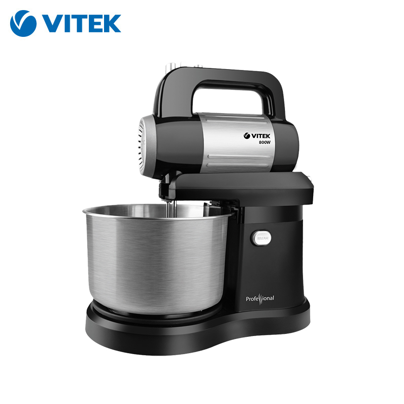 Food Mixer Vitek VT-1427 With Bowl Planetary Stand Household Appliances For Kitchen Dough