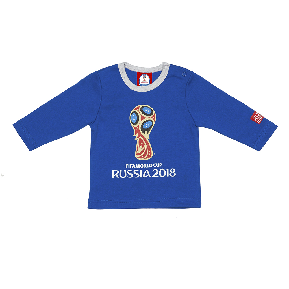 T Shirts FIFA WORLD CUP RUSSIA 2018 for boys F1-12 Top Baby T Shirt Kids Tops Children clothes kids outfits letter pattern t shirts in white