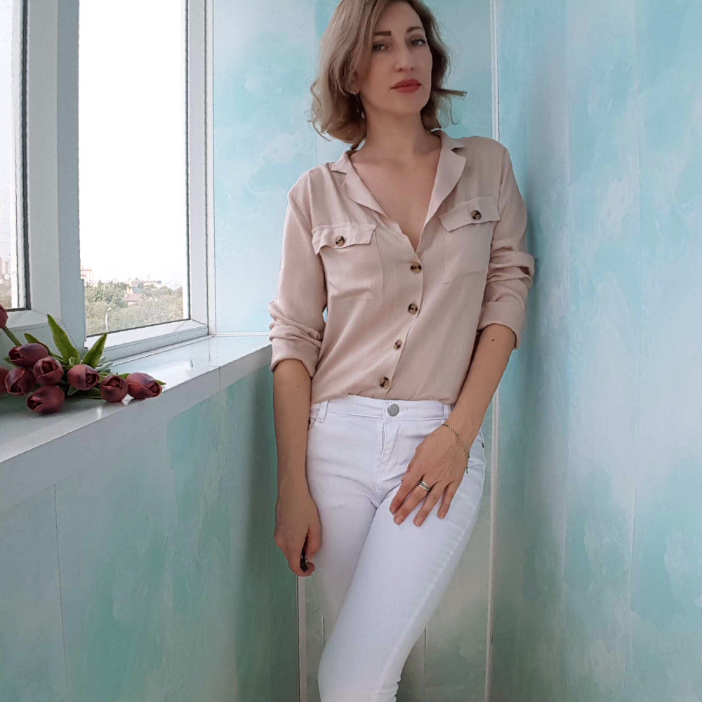 aec2aaa6fb2 Подробнее Обратная связь Вопросы о Tangada Женская белая блузка ...