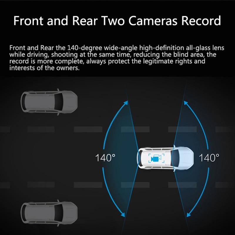 Image 5 - JADO D820s Car Dvr Stream RearView Mirror dash Camera avtoregistrator 10 IPS Touch Screen Full HD 1080P Car Recorder dash cam-in DVR/Dash Camera from Automobiles & Motorcycles