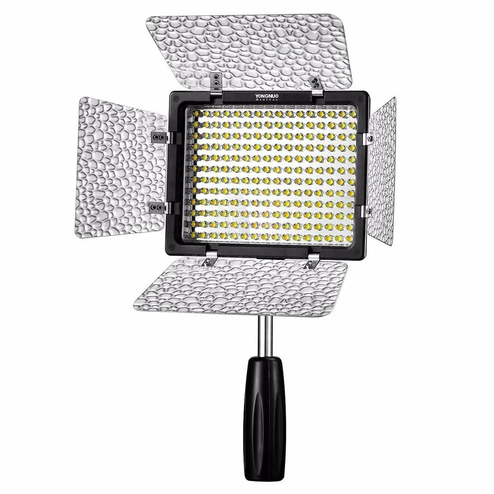 Yongnuo YN-160 III LED Video Light Annular Lamp Photography Lighting for Canon 650D 5D Mark II 6D 7D 60D 600D 550D Dslr Camera