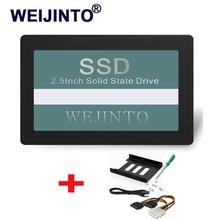 Ssd sata3 2.5 polegadas 60gb 120g 240gb 128gb 256gb 64gb disco rígido hd hdd & 2.5 ssd a 3.5 adaptador de montagem de metal para desktop