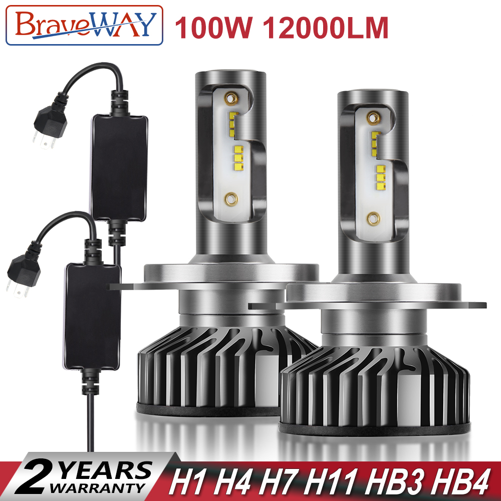 best price braveway h4 led bulb h1 h7 h8 h11 hb3 hb4 9005 9006 carbraveway h4 led bulb h1 h7 h8 h11 hb3 hb4 9005 9006 car light bulbs h4