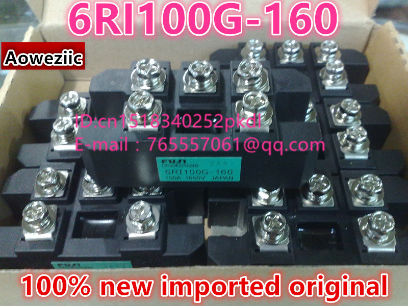 100% new imported original  6RI100G-160  power IGBT module 1pcs 5pcs 10pcs 50pcs 100% new original sim6320c communication module 1 xrtt ev do 3g module