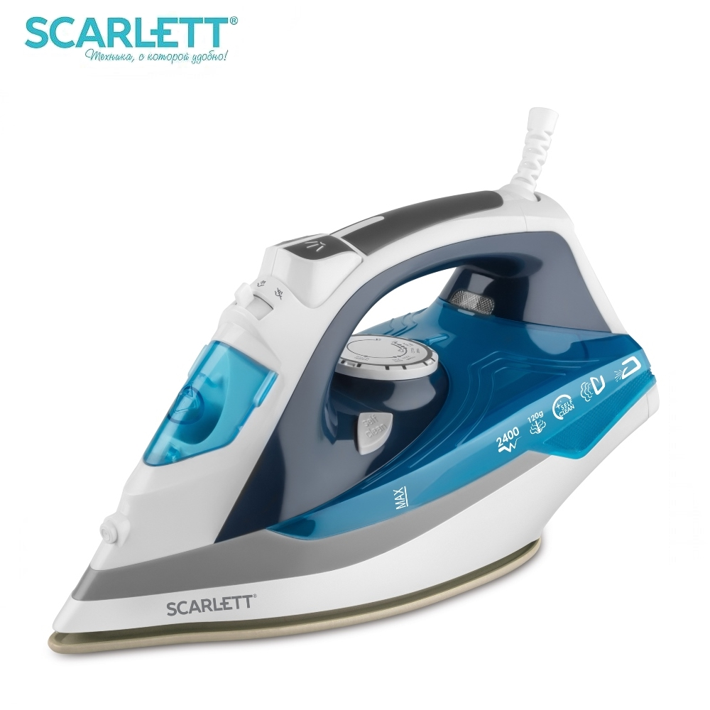 Iron Scarlett SC-SI30P06 Iron for ironing Mini iron steam iron Steam generator for clothing Irons Electric steamgenerator Small lson 30w welding nozzle for electric soldering iron silver 4 pcs