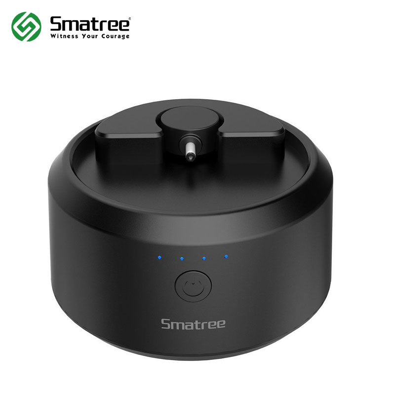 Smatree Black Intelligent 18000mAh Portable Battery Base for Amazon Echo Speaker(Power Your Echo Up To 14 hours) smatree smapole x1 профессиональный монопод black