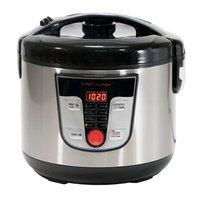 Kitchen robot Multifunction, Programmable 24 H. Capacity 5L. 8 Menus 8 Programs. Screen and Cookbook (Black)