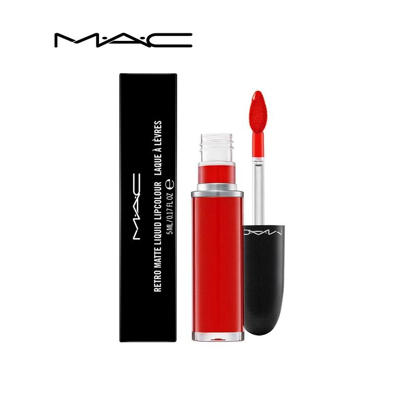 MAC Makeup 14 color Matte Liquid Lipstick Women Lips Makeup Small Matt Lip Gloss Make up Balm Cosmetics Lipgloss Mate Batom