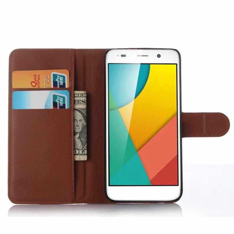 Huawei Y6 Kılıf 5.0 inç Cüzdan Lüks PU deri telefon kılıfı Kapak Için Huawei Y6 SCL-L21 SCL-L01 Kılıf Flip arka kapak Çanta Cilt