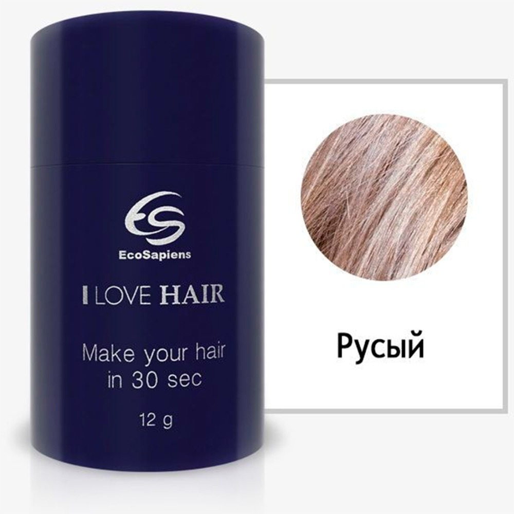 Hair thickener I love hair, hair powder, hair shadow, hair dye, hair paste, temporary dye, hair dye, hair designer Ecosapiens new fashion hair color hair chalk set makeup temporary hair chalk paint for hair free shipping m02298