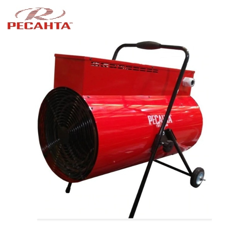 Electric heat gun RESANTA TEP-24000K (round) Hotplate Facility heater Area heater Space heater цена