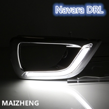 DRL For Nissan NP300 Navara (D23) 2014-2017/ Car Daytime Running Light / Styling Day Driving Lamp