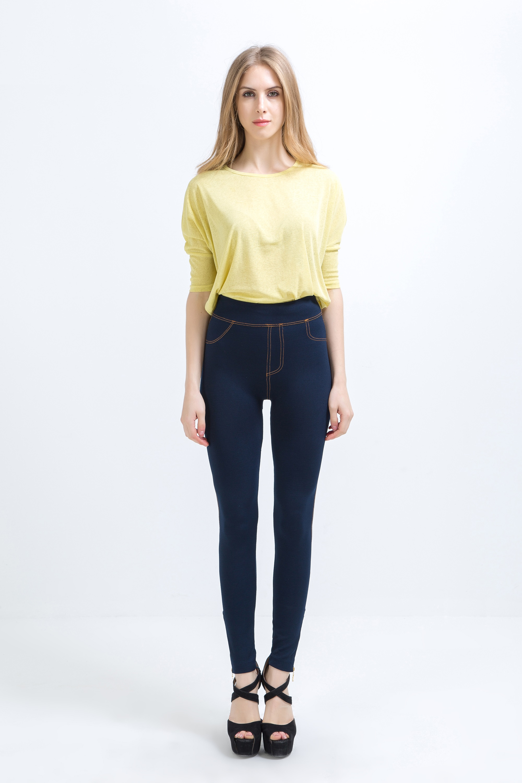 Leggings   for women OEMEN LR671-1 stretch jeggings jeans pants demi-season shipping from Russia