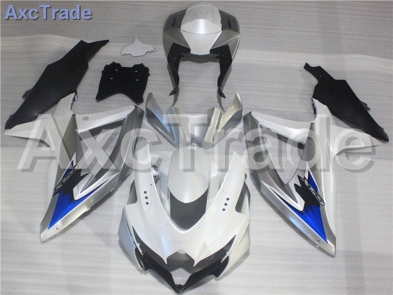 Мотоцикл Обтекатели для Suzuki GSXR системы GSX-Р 600 750 GSXR600 GSXR750 2008 2009 2010 К8 пластичной Впрыски ABS обтекатель комплект Bodywok