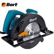 Циркулярная пила Bort BHK-160U (Диск 160 мм, 1200 Вт, регулировка угла и глубины пропила)