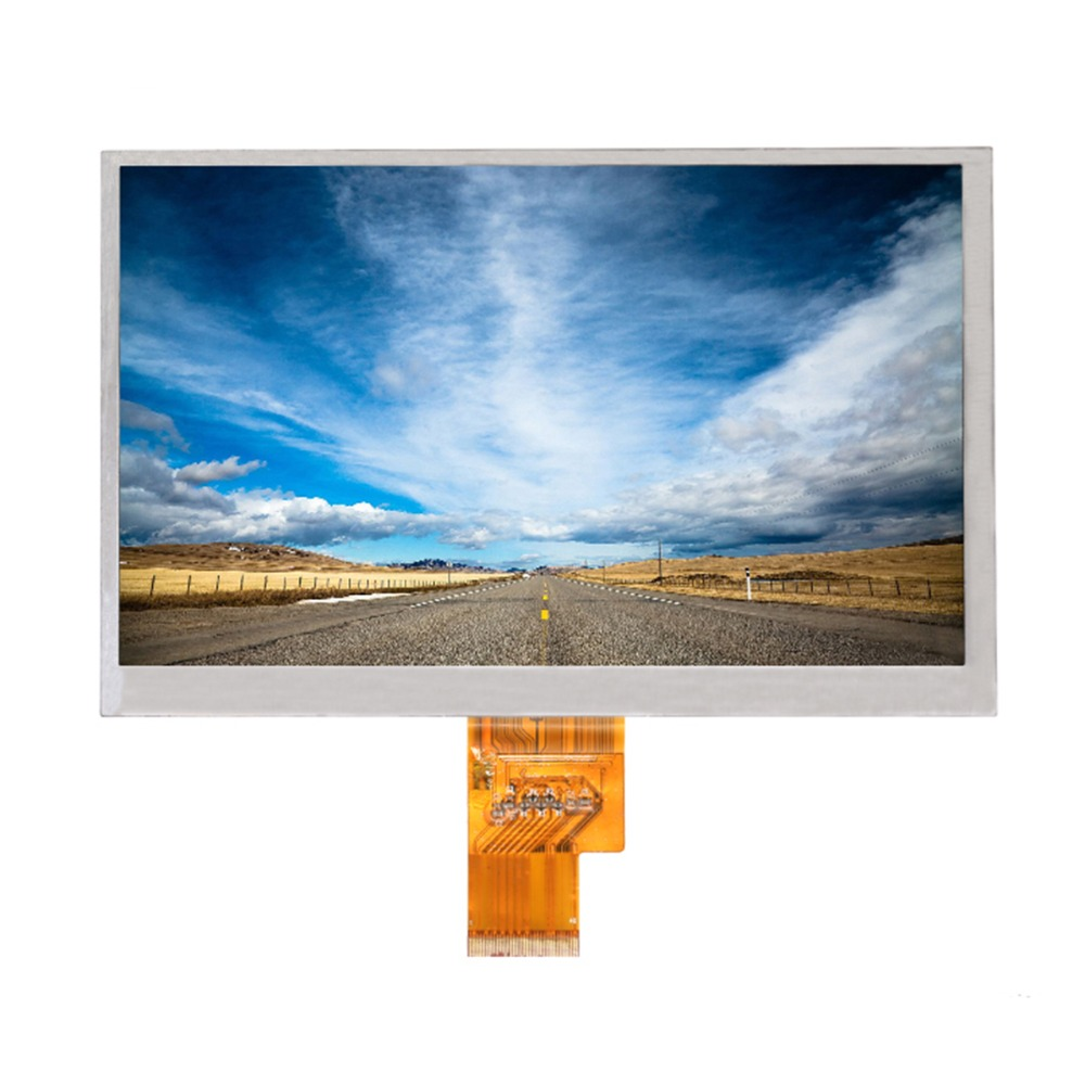все цены на DIY 7.0 inch Used monitor screen EJ070NA-01J M1-B1 1024*600 LCD SCREEN for laptop Car bus GPS display monitor led screens онлайн