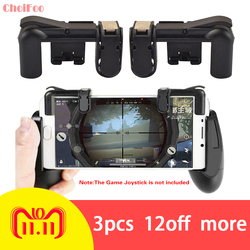 Gamepad For Pubg Game Trigger Cell Phone Mobile Pubg Controller Fire Button Gamepad L1R1 Aim Key Joystick for iphone Android