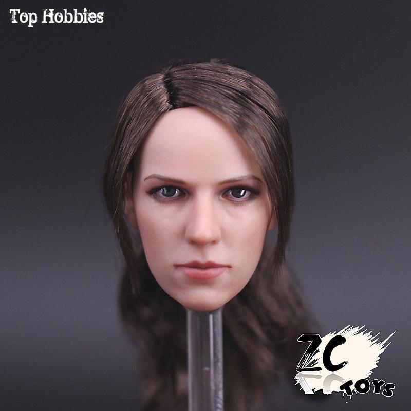 Custom 1 6 Scale Accessoires ZCtoys Head Sculpt Metal Gear Solid Sniper Quiet JINGJING Hair Beauty