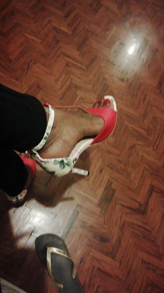 Sapatos Femininos saltos aumentou stiletto