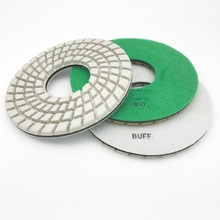 10 inch 250mm Wet/Dry Diamond Polishing Pad for marble granite concrete terrazzo stone
