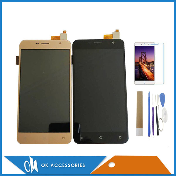 Black White Gold Color For Prestigio Muze B3 PSP3512 PSP 3512 DUO LCD Display+Touch Screen Digitizer With Kit