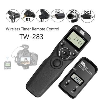 Pikseli TW-283 bezprzewodowego zdalnego sterowania czasowego zwolnienie migawki (DC0 DC2 N3 E3 S1 S2) kabel do aparatu Canon Nikon Sony TW283 #8217 s postawy polityczne w RC-6 tanie i dobre opinie Sony Minolta SAMSUNG Fujitsu Pentax EACHSHOT wireless