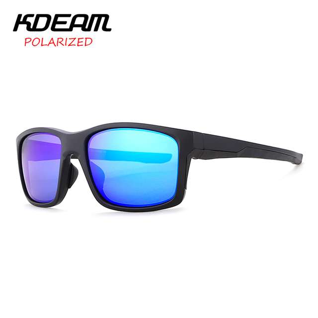 c28646d9309 KDEAM TR90 Frame Sport Polaroid Sunglasses Mens Cat.3 UV400 Polarized  Driving Eyewear Sun Glasses