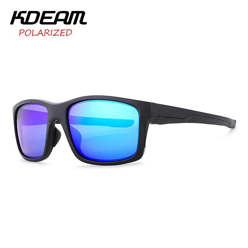 Kdeam tr90 Marcos deporte Polaroid Gafas de sol mens cat.3 UV400 polarizado  conducir gafas Sol Gafas mujeres con caja dura kd688 en Gafas de sol de ... 4377972c3648