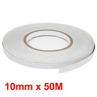 X Autohaux White Covers Motorcycle Reflective Tape Stickers Car Styling 10Mm X 50M