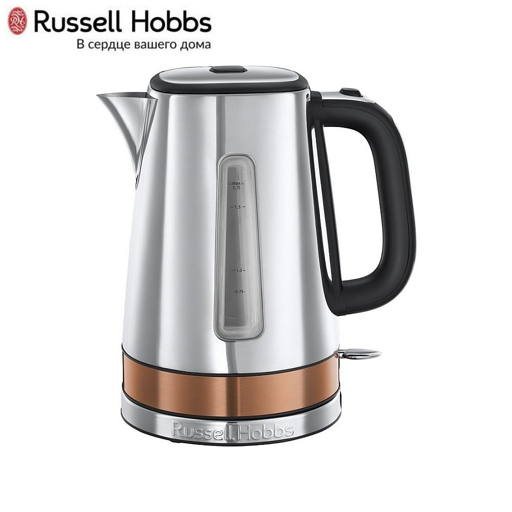 Electric Kettle Russell Hobbs 24280-70 Kettle Electric Electric kettles home kitchen appliances kettle make tea Thermo цена