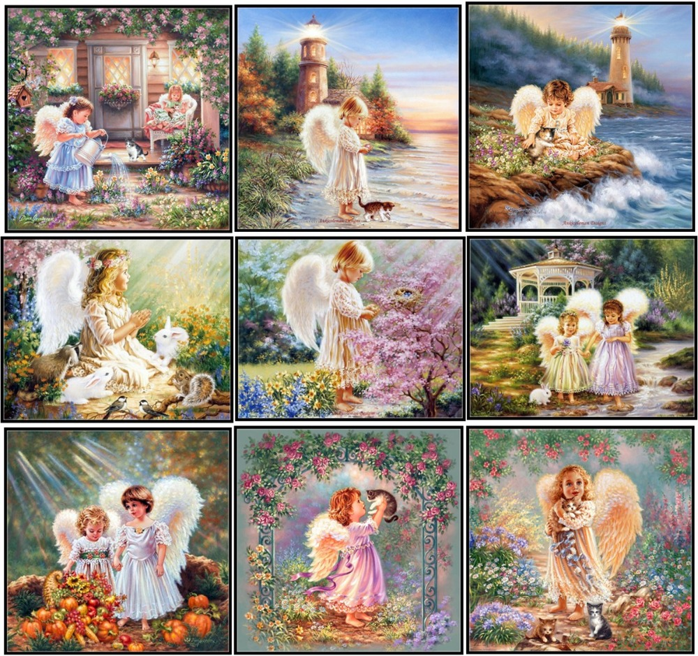 Electronic Components & Supplies Beautiful Embroidery Package Hot Sell Best Quality Cross Stitch Kits Play Piano Girl Free Shipping