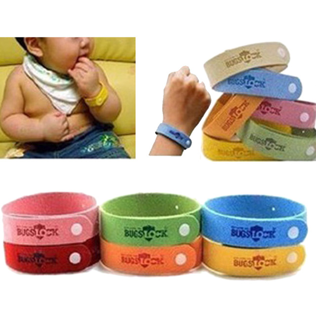 1pcs Color Random Anti Mosquito Repellent Bracelet Insect Wristband Hand Strap For