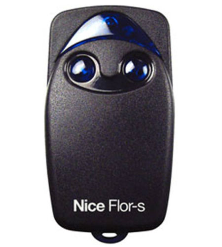 for Nice FLO2R-S 2-channel FLOR-S FLOR_S Remote control, Rolling code 433,92MHZ