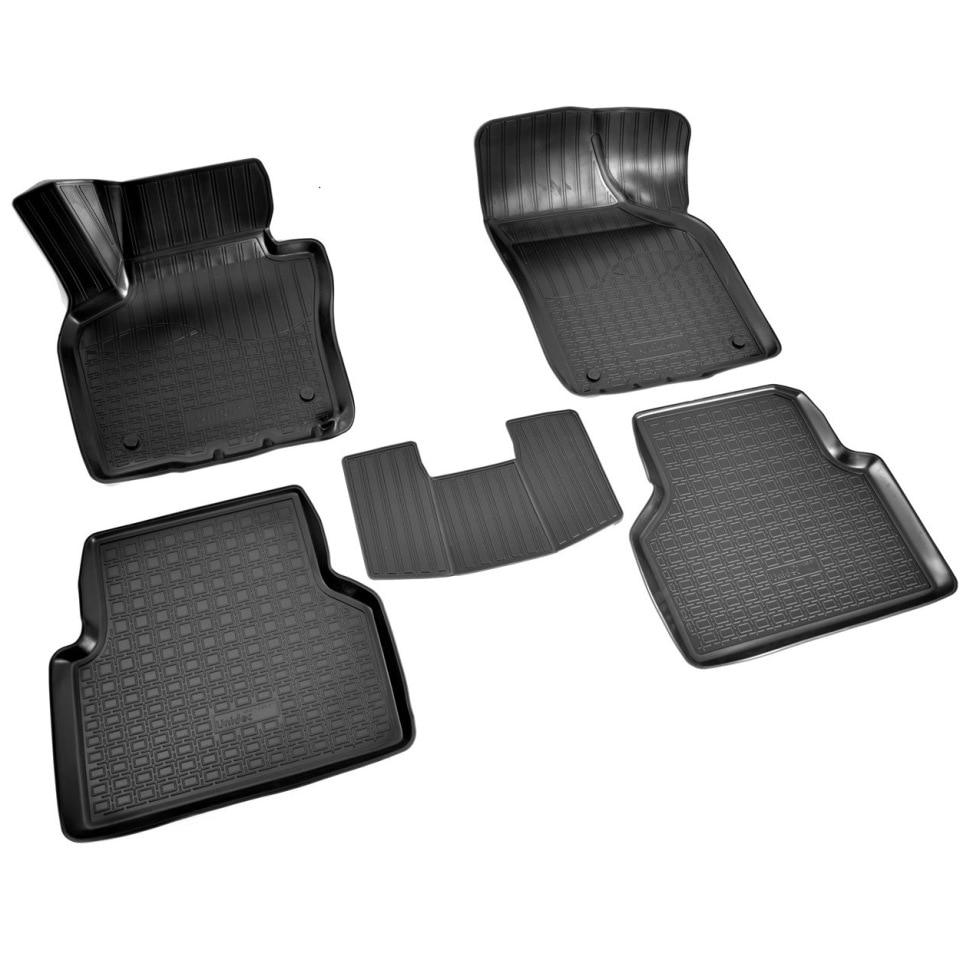 For Volkswagen Tiguan 2011-2016 3D floor mats into saloon 5 pcs/set Norplast Unidec NPA11C95511