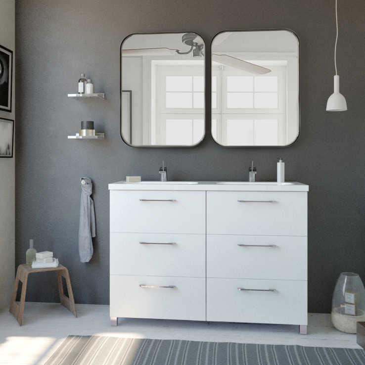 120 Cm Modern Bathroom Vanity Nexo