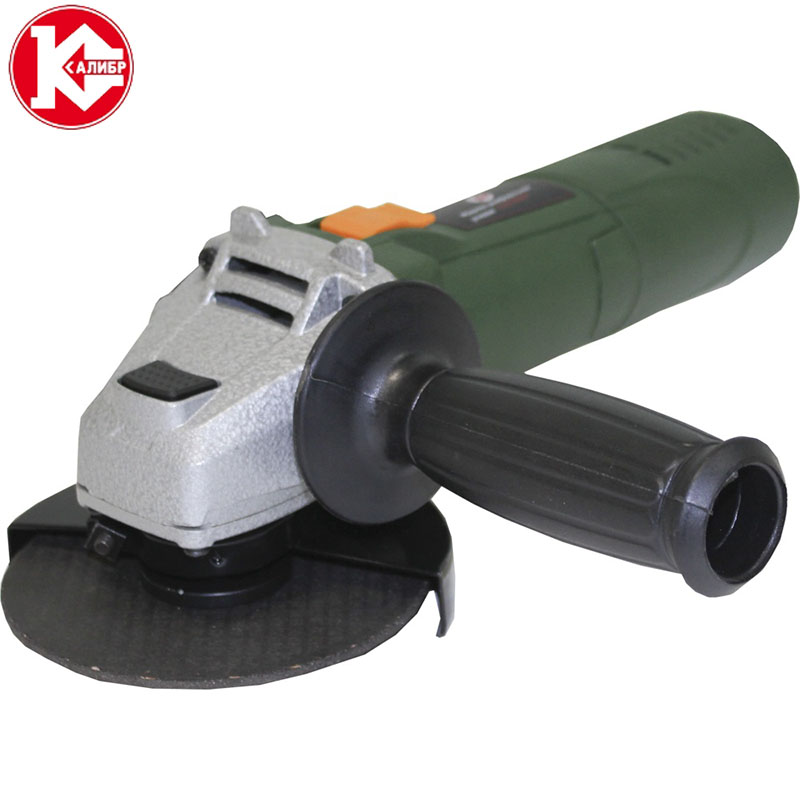 Kalibr MSHU-115/750 Electric Angle Grinder Power for Grinding and Cutting ac 220v angle grinder replacement 8mm shaft motor rotor for new hitachi 150 g15sa2 dca s1m ff 150a