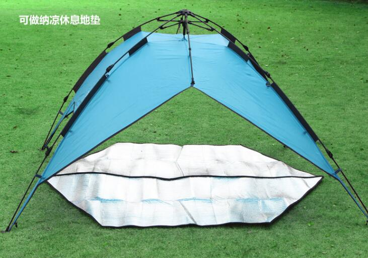 Hexagonal New Style Outdoor Pads Aluminum Foil Mats Double Side C&ing Mat Waterproof D&proof Tent mattress-in Underwear from Mother u0026 Kids on ... & Hexagonal New Style Outdoor Pads Aluminum Foil Mats Double Side ...