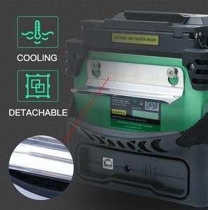 Image 3 - Komshine Ultimo Modello GX37 Fibra Ottica Fusion Splicer macchina saldatrice soudeuse de fibra optique con extra elettrodi