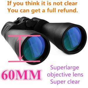 Image 3 - Zoom longue portée 10 80 fois montre lune télescope pliant chasse HD jumelles Camping randonnée Lll Vision nocturne télescope voyage