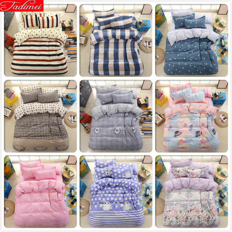 3/4 pcs Bedding Set Soft Cotton Bed Linen Adult Kids Child Single Twin Queen Double King Size Duvet Cover Soft Cotton Bedspreads3/4 pcs Bedding Set Soft Cotton Bed Linen Adult Kids Child Single Twin Queen Double King Size Duvet Cover Soft Cotton Bedspreads