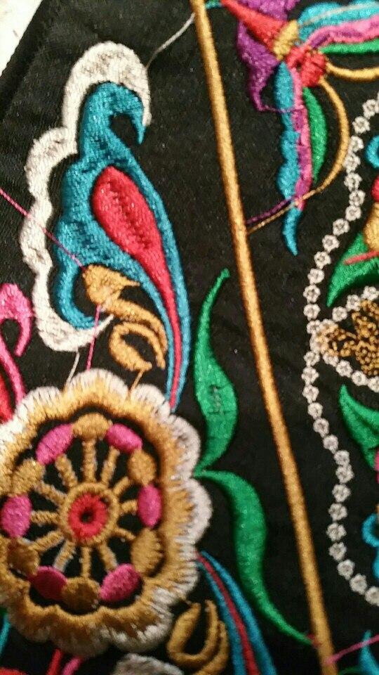 2019 Hoge kwaliteit merk katoenmix portemonnee vrouwelijke nationale retro portemonnee geborduurd lange portemonnee vrouwen vintage portemonnee photo review