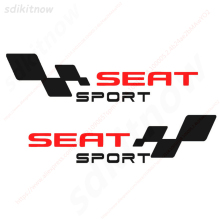 2pcs Spain Car Decal Body Windows Sports Racing PVC Sticker Styling For Seat Leon Ibiza Altea Cordoba Toledo Accessories