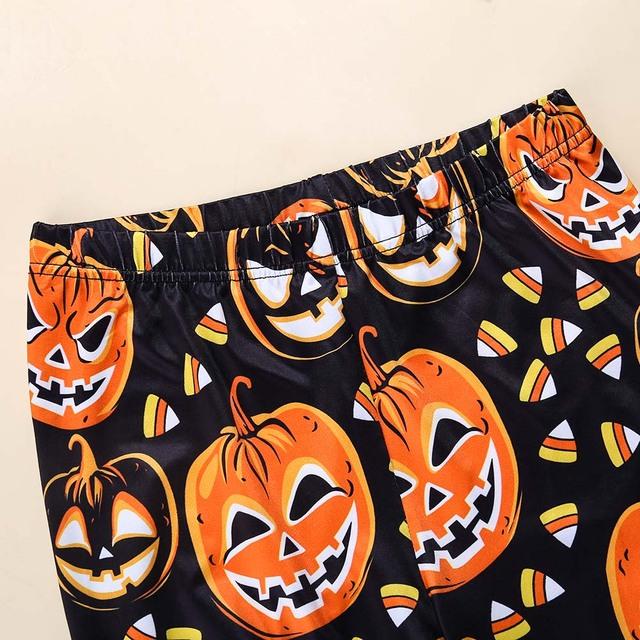 Pumpkin Digital Print Halloween Leggings