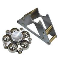 Hot Steel Ball Hand Spinner Tripod Tri Hand Spinner Finger Spinner Stainless Steel Spin EDC Sensory