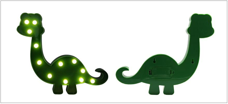Cute Dinosaur LED Bedside Decoration Lamp