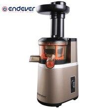 Соковыжималка электрическая Endever Sigma 92 (Мощность 350 Вт, шнековая, 100% сохранение витаминов, резервуар для сока 1000 мл, защита от перегрева)