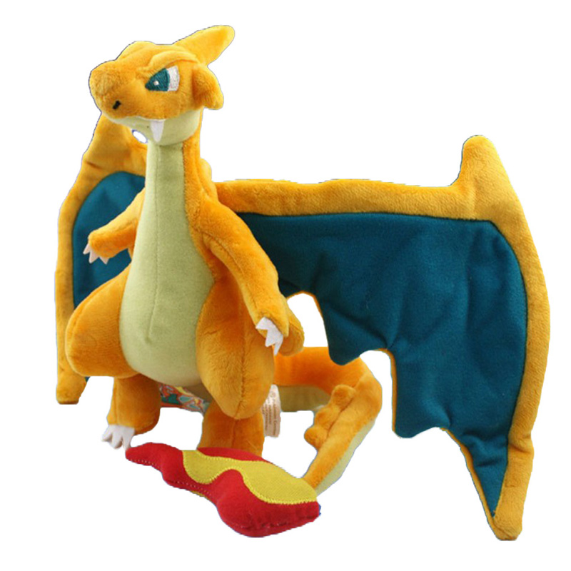 1Pcs 10 quot 25cm Mega Charizard Plush Toys Charizard Y Plush Doll Stuffed Soft Good Quality Great Gift Free Shipping in Movies amp TV from Toys amp Hobbies