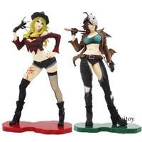 Sexy Female Grils Version Freddy Vs Jason Statue Horror Bishoujo Freddy Krueger Jason Voorhees Doll PVC Action Figure Model Toys